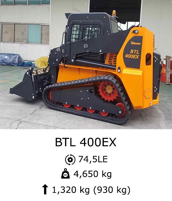 BTL 400EX Csúszókormányzású rakodó