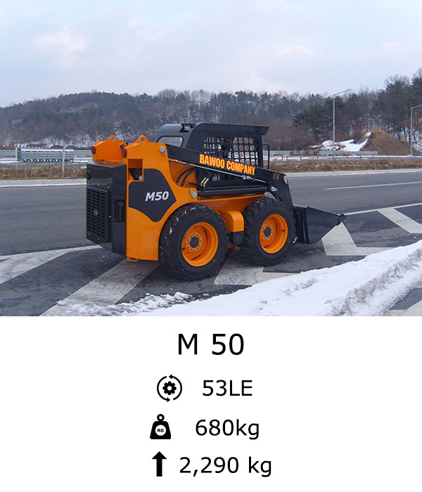 M 50 Kompakt rakodó