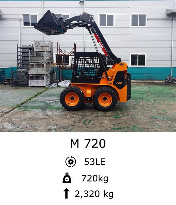 M 720 Kompakt rakodó