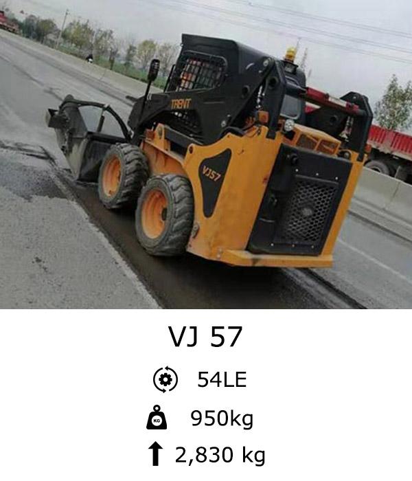 VJ 57 Kompakt rakodó